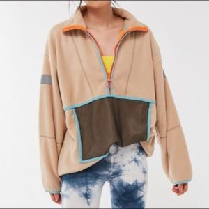 NWT URBAN OUTFITTERS IAN OVERSIZED FLEECE PULLOVER